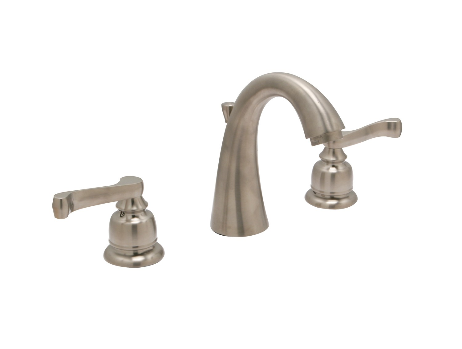 Sienna widespread faucet with a 50-50 pop-up assembly