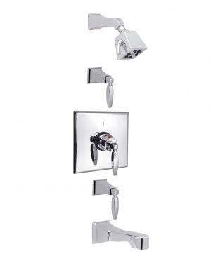 """Intrigue 3/4"""" Thermostatic Shower Package INTH01PK1"""