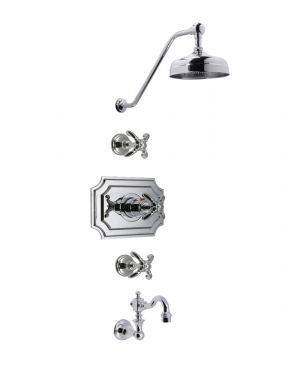 "Monarch 3/4"" Thermostatic Shower MOTH01PK2X"