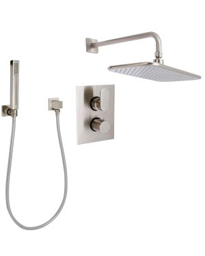 """Refection 1/2"""" Thermostatic Shower Package - P6661002-1"""