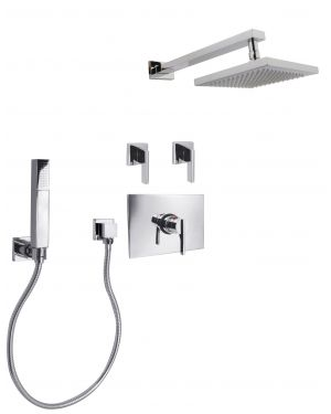 "Favari 3/4"" Thermostatic Shower Package S6560401-1"