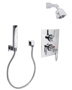 "Intrigue 1/2"" Thermostatic Shower Package S6660001"