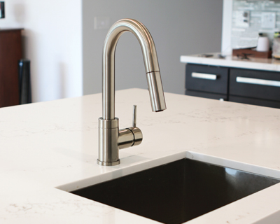 Pull Down Kitchen Prep Faucets